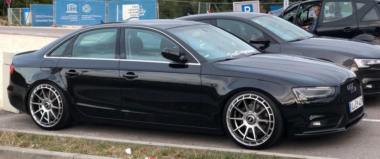 Audi – A4 – ASA TEC SPEEDWHEELS – GT8 – Silber – 20 Zoll