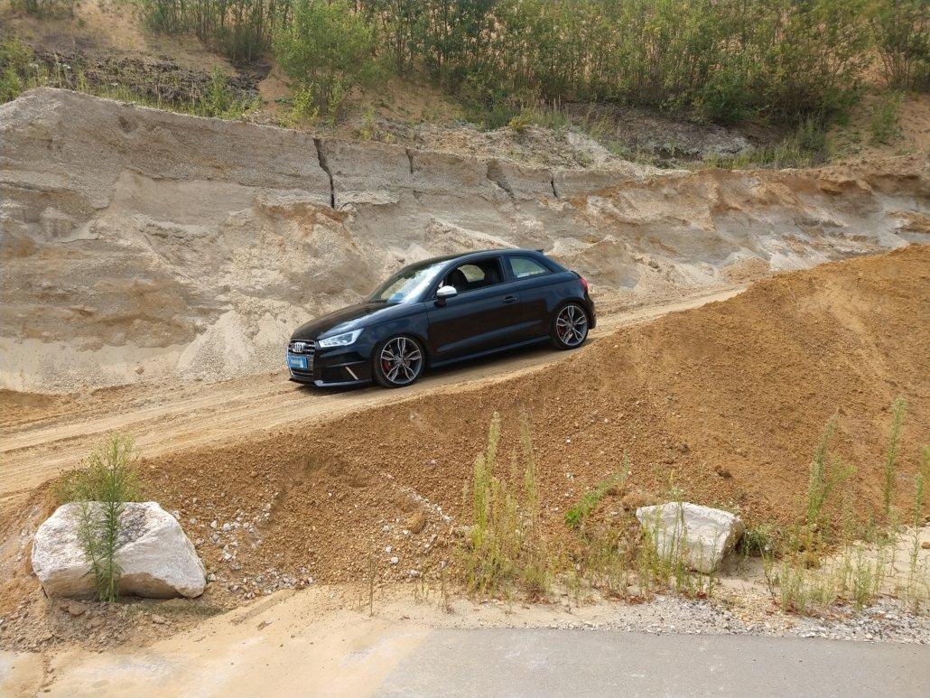 Audi - S1 - ORIGINAL AUDI - S1 8X - Anthrazit - 18 Zoll • felgengalerie.de