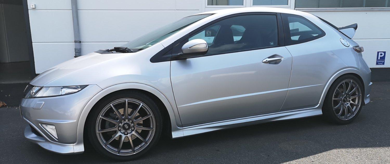 Honda – Civic – ENKEI – Wakasa – Titanium Highgloss – 18 Zoll