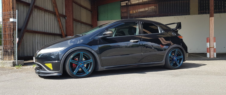 Honda – Civic – OXIGIN – 18 Concave – Blau – 18 Zoll