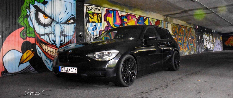 BMW – 1er – MAM – B2 – Schwarz – 19 Zoll