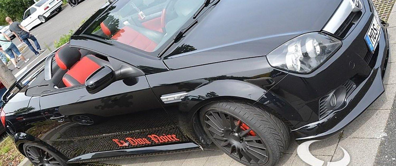 Opel – Tigra – ATS – Streetrallye – Schwarz – 18 Zoll