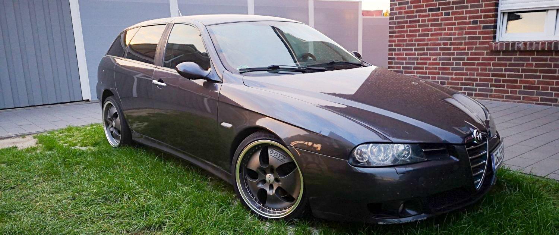 Alfa Romeo – 156 Sportwagon – DOTZ – Las Vegas – Anthrazit – 18 Zoll
