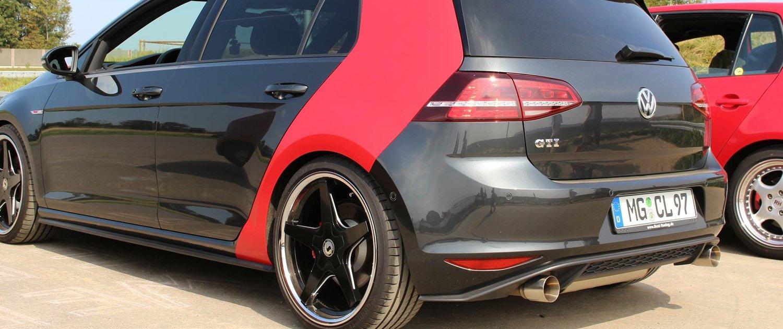 VW – Golf GTI – SCHMIDT – XS5 – Schwarz – 19 Zoll