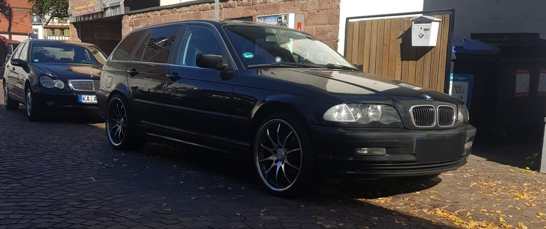 BMW – 3er – TOMASON – TN8 – Silber – 19 Zoll