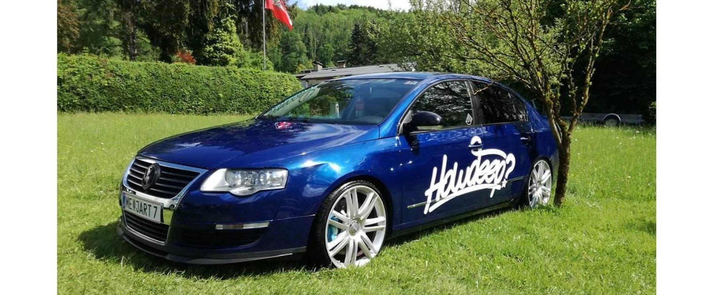 VW – Passat – ORIGINAL AUDI – S8 – Silber – 20 Zoll