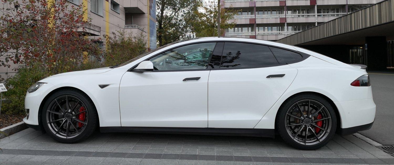 Tesla – Model S – NICHE FORGED – M197 Sektor – Anthrazit – 20 Zoll