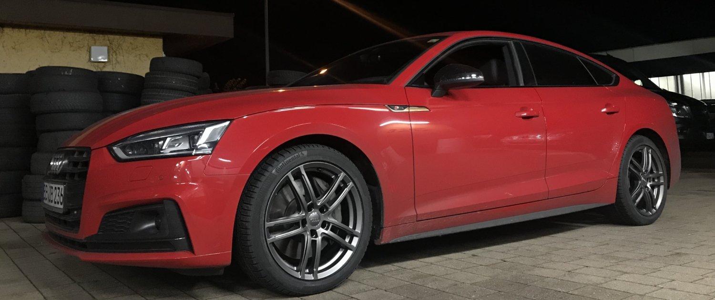 Audi – A5 – DEZENT – TZ – Graphit – 18 Zoll