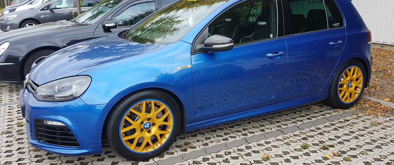 VW – Golf 6 – ORIGINAL VW – Madras – Gold – 17 Zoll
