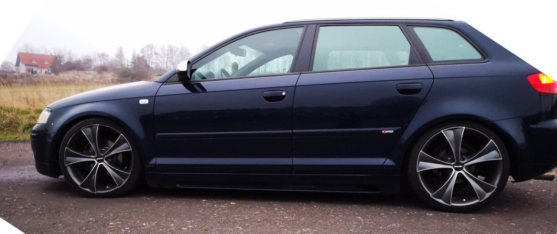 Audi – A3 – CARMANI – CA 3 CURVE – Anthrazit – 19 Zoll