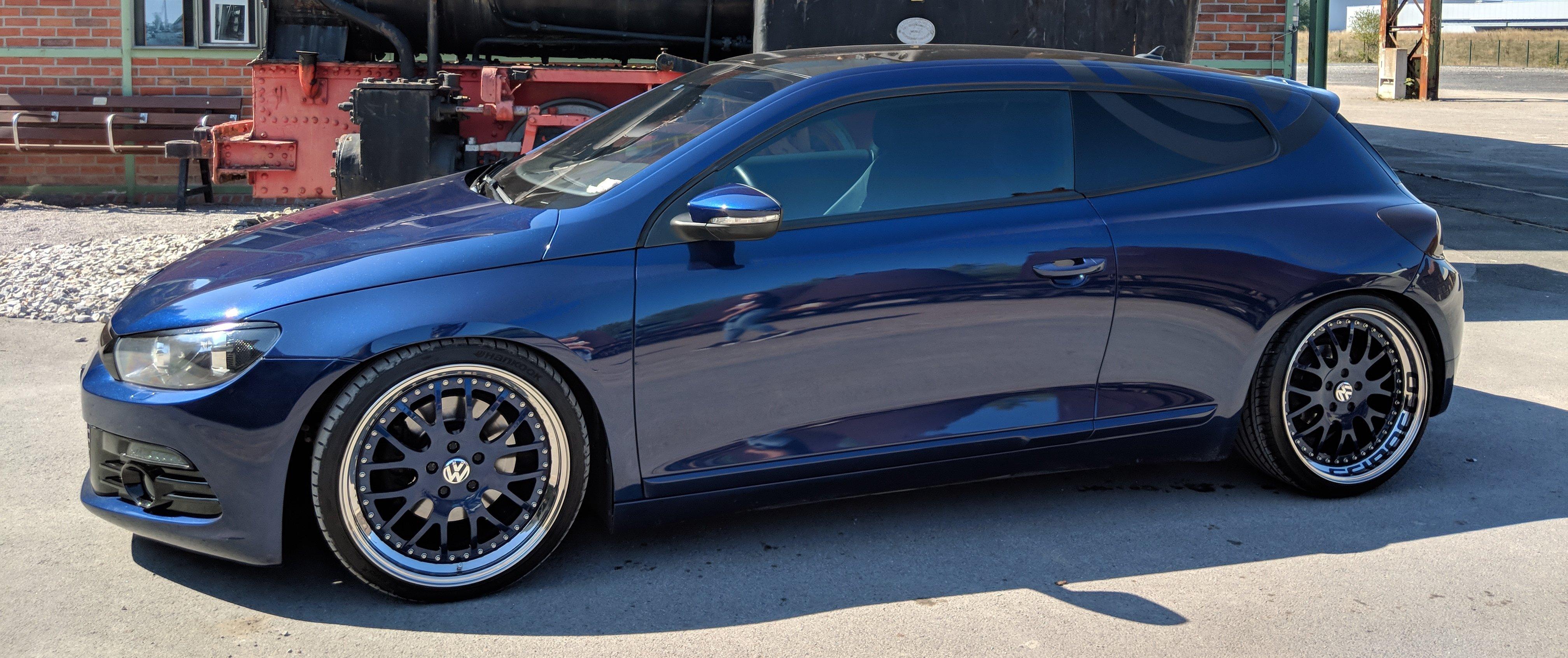 VW – Scirocco – CARLINE – M1 – Blau – 19 Zoll