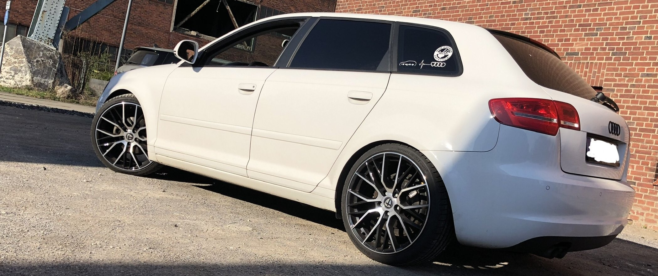 Audi – A3 – TOMASON – TN23 – Schwarz – 19 Zoll