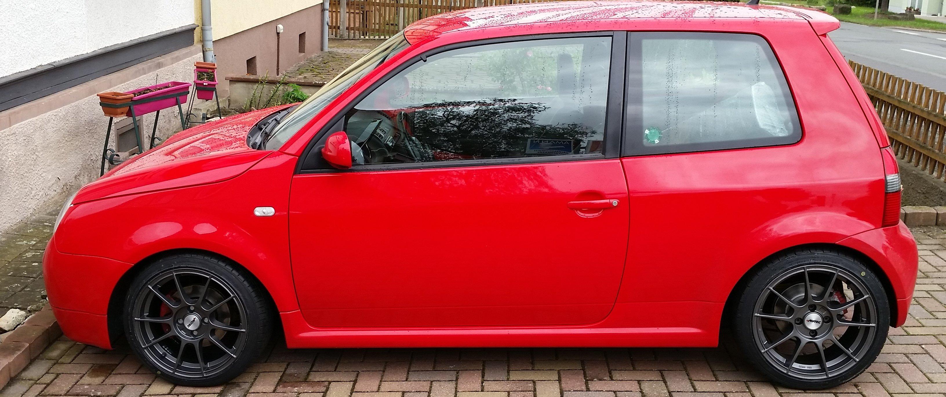 VW – Lupo – AUTEC – W – Wizard – Anthrazit – 16 Zoll