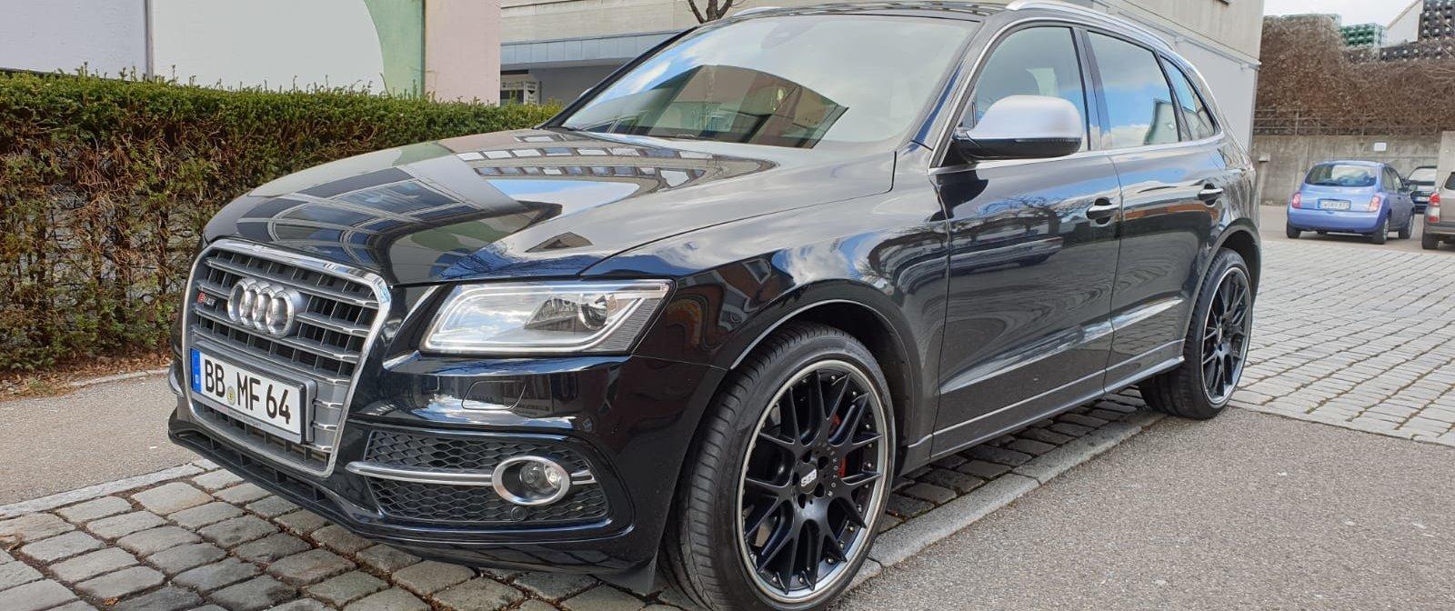 Audi – SQ5 – BBS – CH-R – Schwarz – 21 Zoll