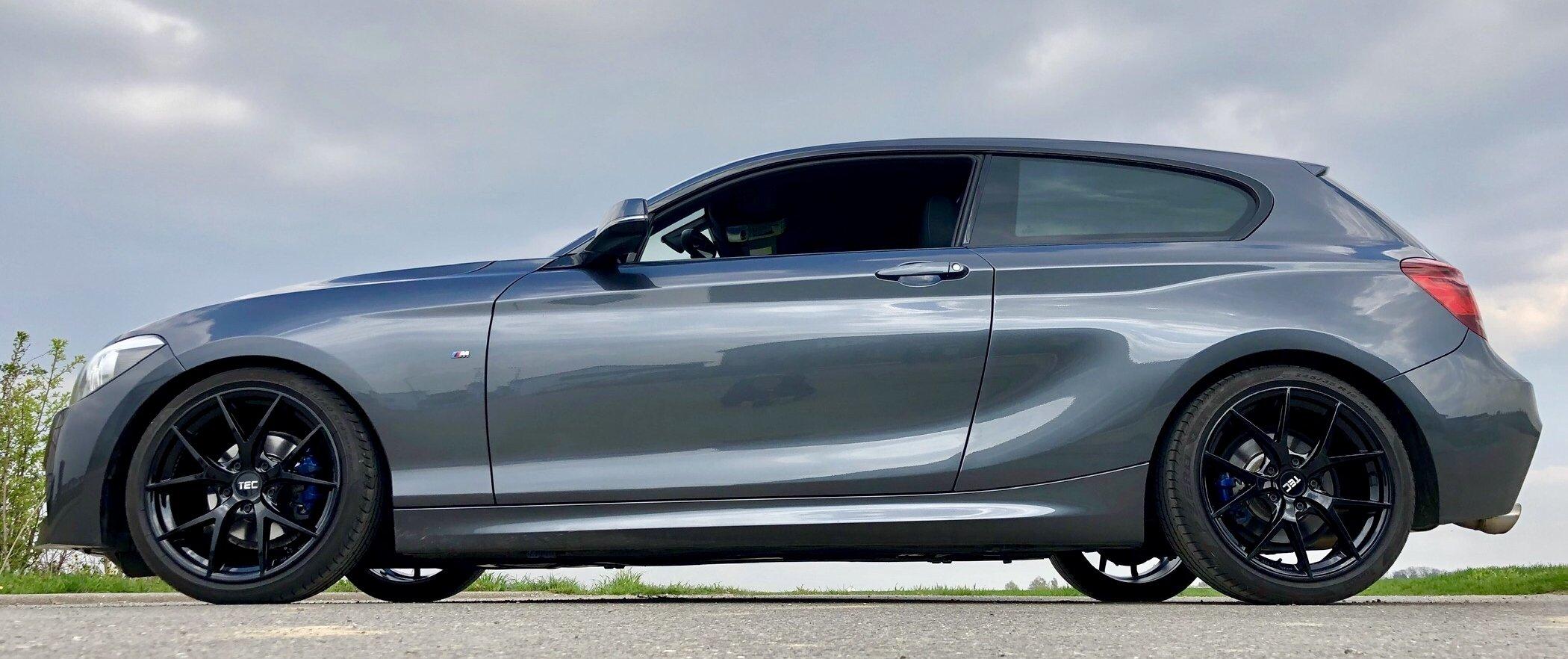 BMW – 1er – TEC WHEELS – GT6 – Schwarz – 18 Zoll