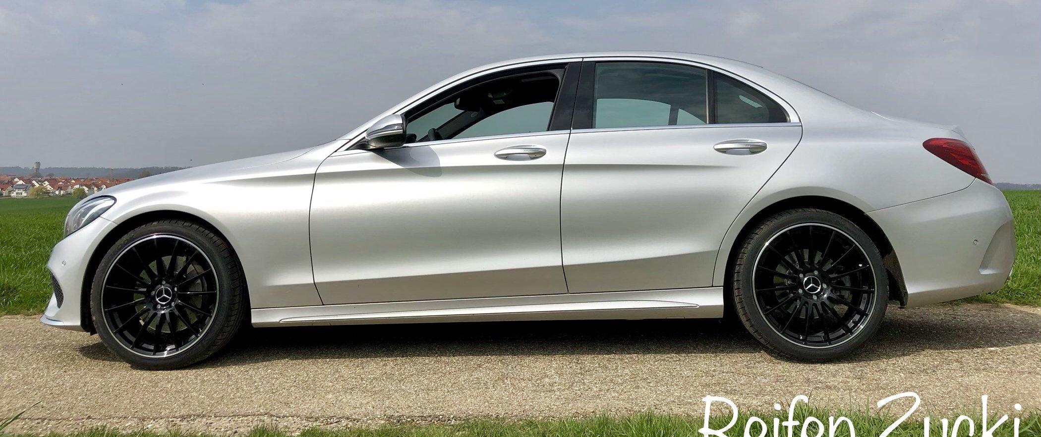 Mercedes-Benz – C-Klasse – ULTRA WHEELS – UA4 – Schwarz – 19 Zoll
