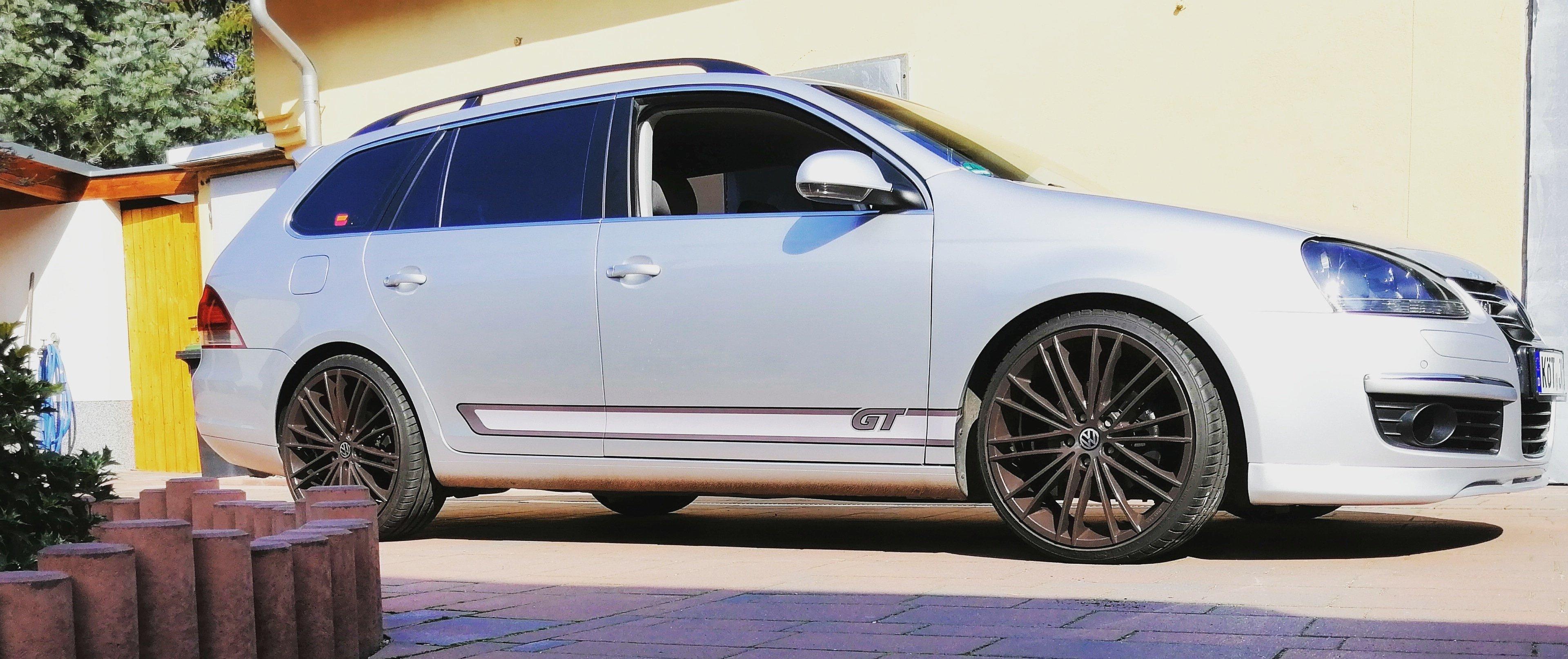 VW – Golf Variant – ORIGINAL AUDI – Bavaria Q5 – Braun – 19 Zoll
