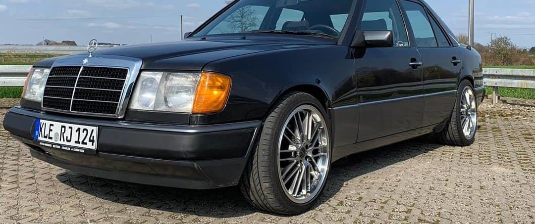 Mercedes-Benz – E-Klasse – BORBET – CW2 – Anthrazit – 18 Zoll