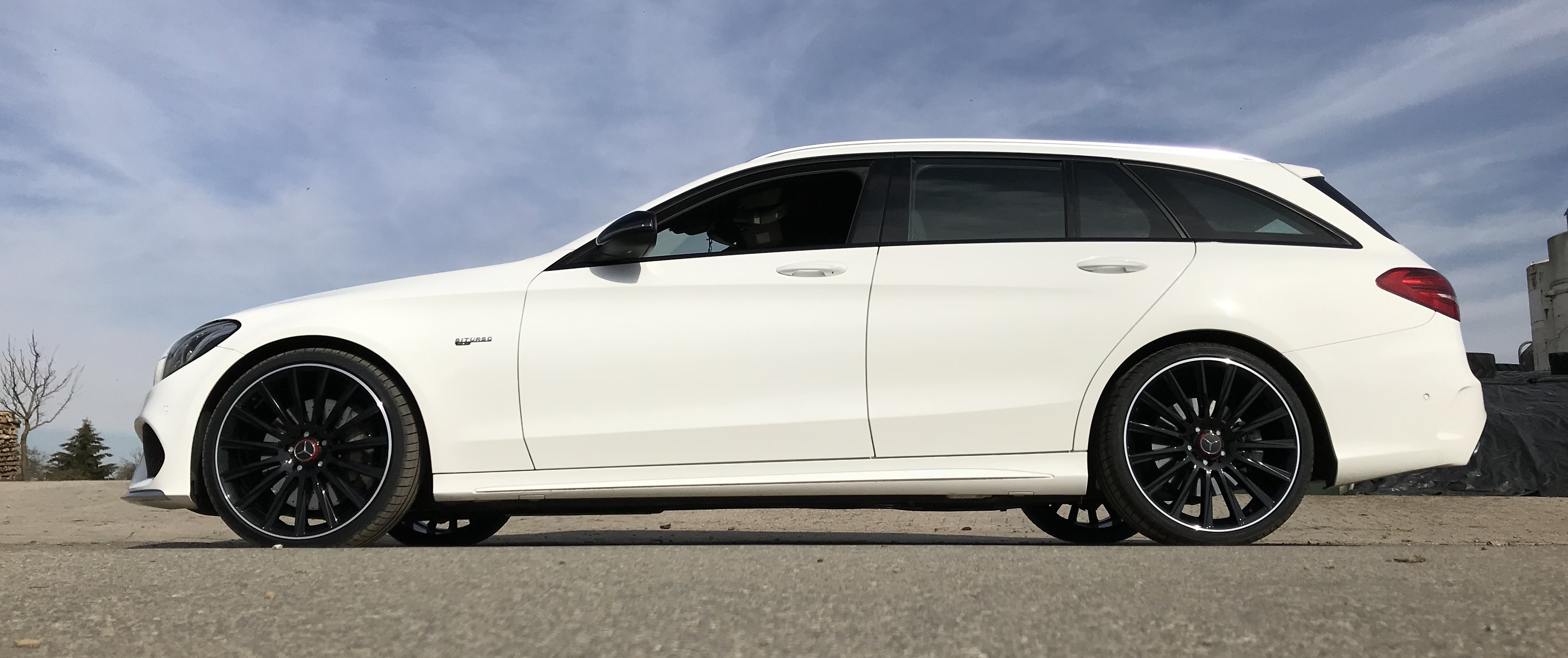 Mercedes-Benz – C43 – KESKIN – KT18 – Schwarz – 20 Zoll