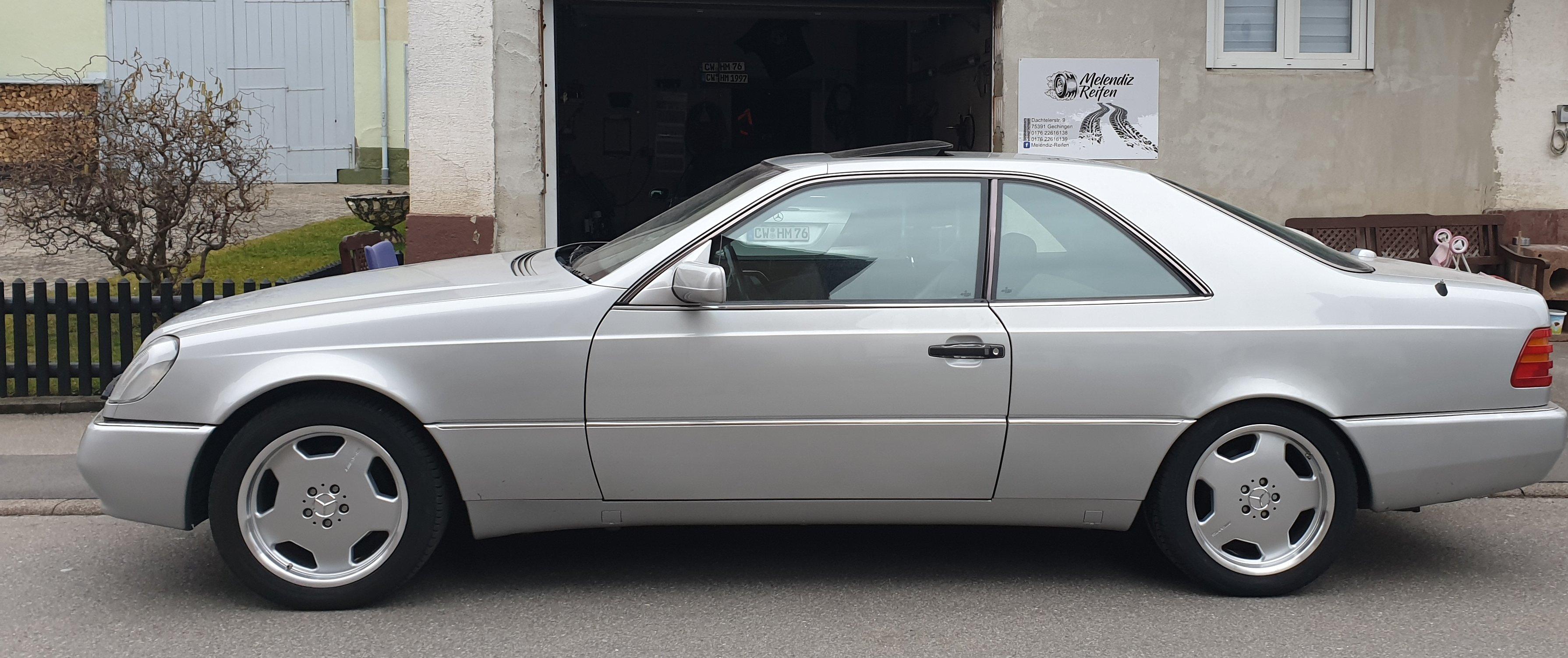 Mercedes-Benz – CL-Klasse – AMG – Styling 2 – Silber – 18 Zoll