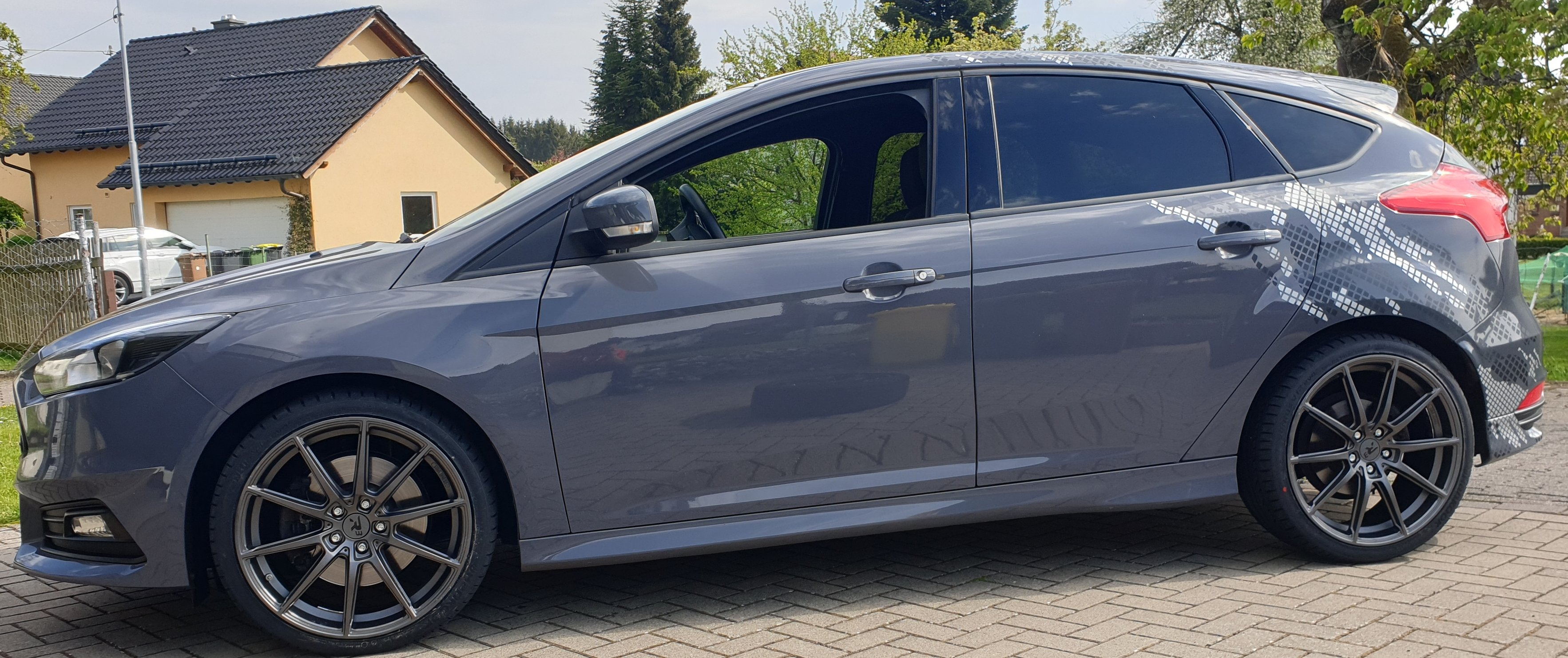 Ford – Focus – R3 WHEELS – H3 – Anthrazit – 19 Zoll