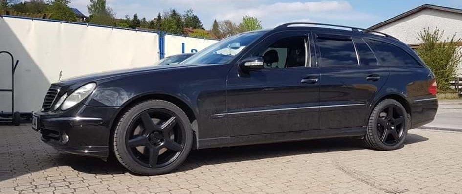 Mercedes-Benz – E-Klasse – AMG – Styling 3 – Schwarz – 18 Zoll