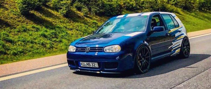 VW – Golf 4 – DOTZ – Kendo – Schwarz – 19 Zoll