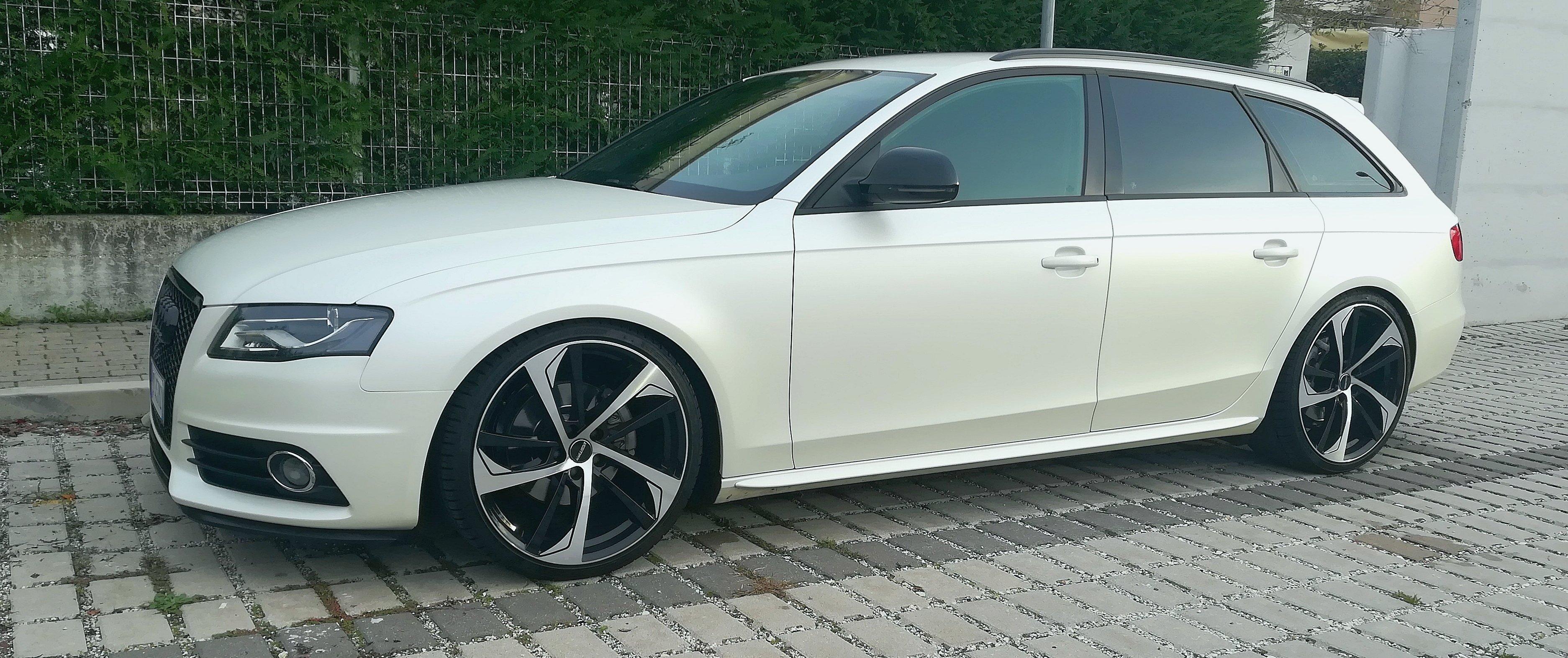 Audi – A4 – GMP ITALIA – Katana – Silber-Schwarz – 20 Zoll