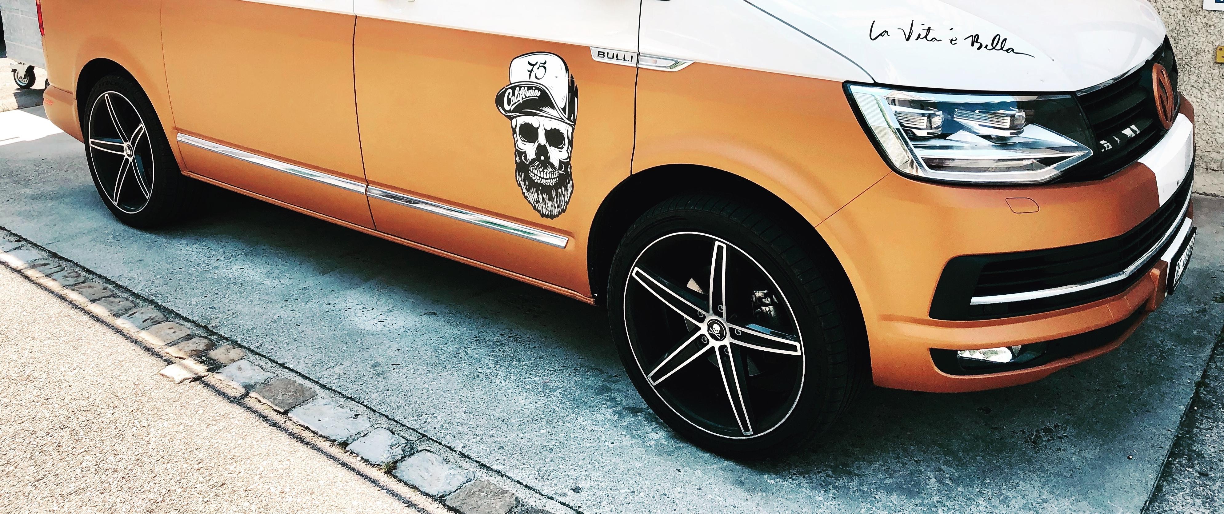 VW – T6 California – Speziallack – OXIGIN – 18 Concave – Schwarz – 20 Zoll