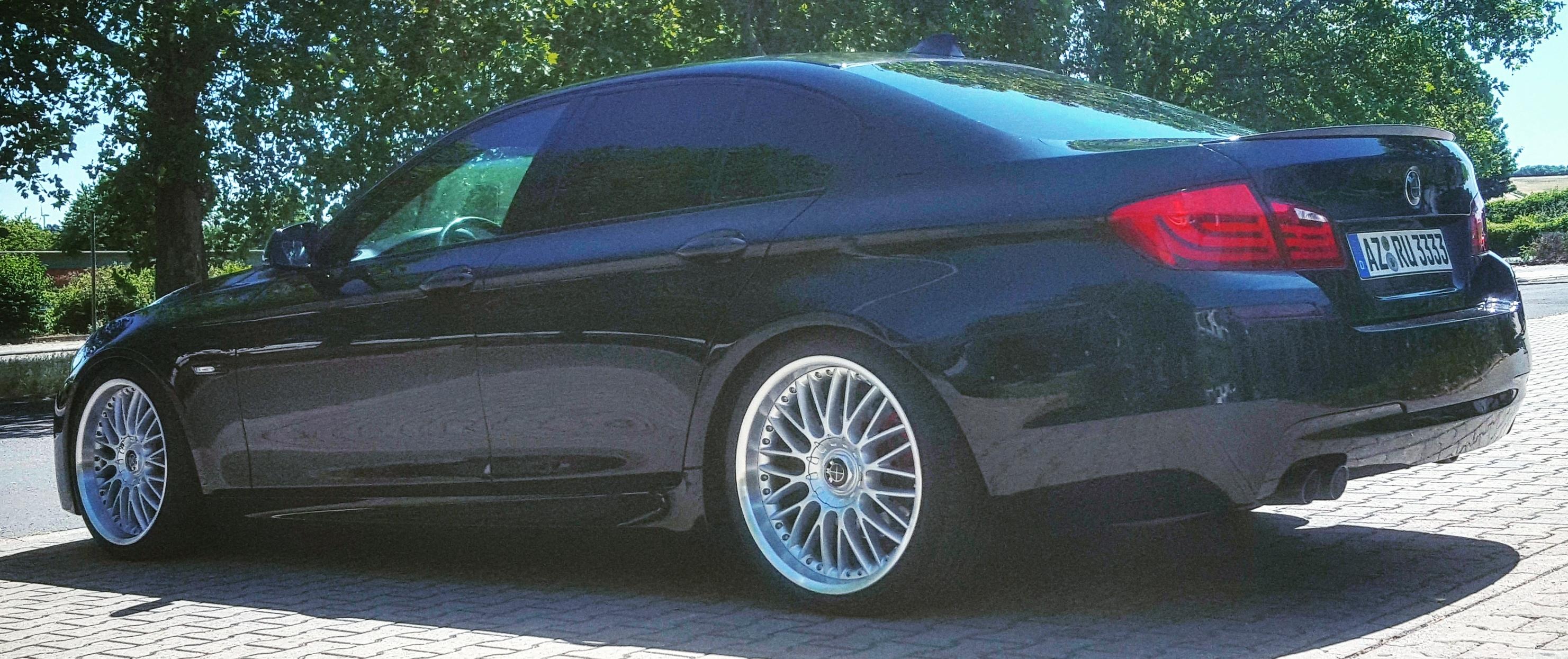 BMW – 5er – Schwarz – ORIGINAL BMW – Styling 101M – Silber – 20 Zoll