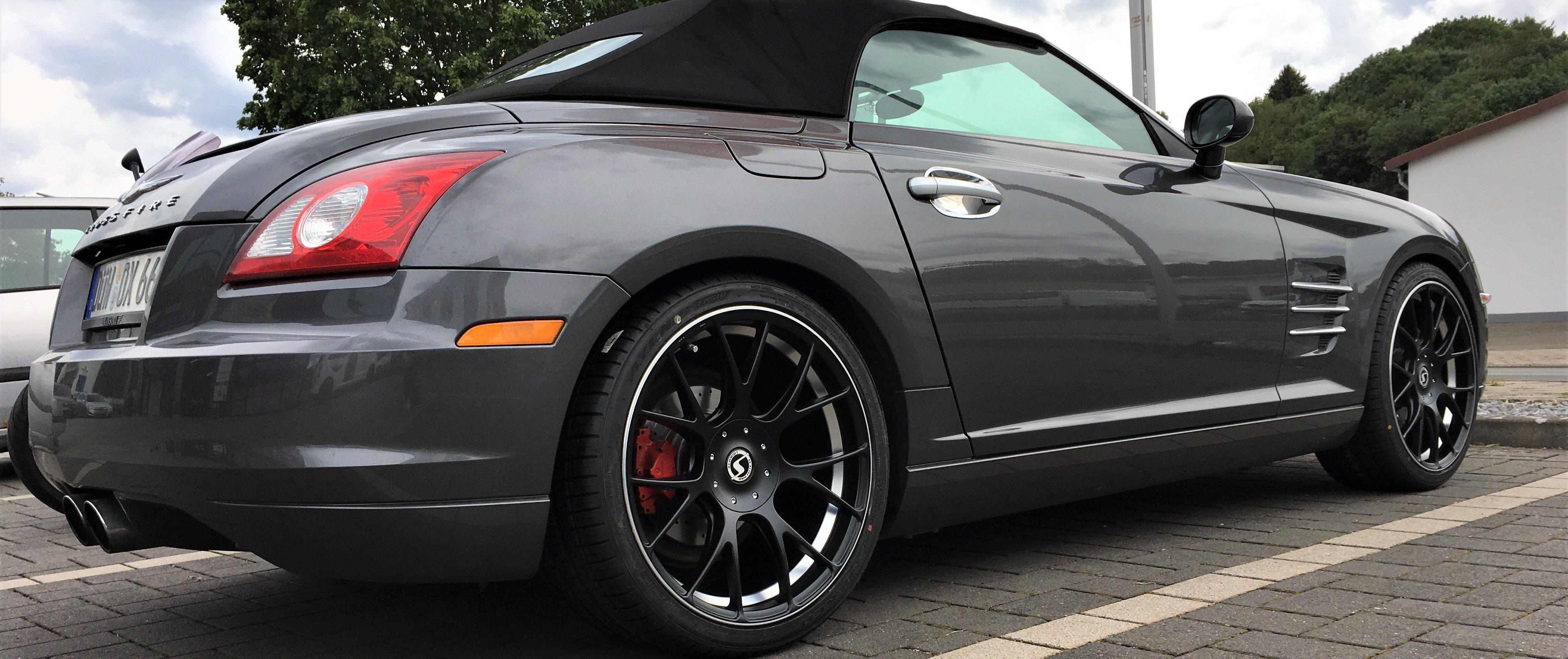Chrysler – Crossfire – Schwarz – SCHMIDT – Gambit – Schwarz – 19 Zoll