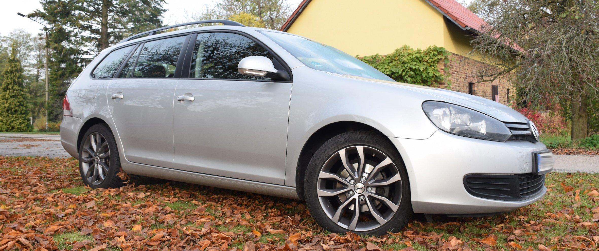 VW – Golf 6 – Silber – AUTEC – Uteca – Titansilber – 17 Zoll
