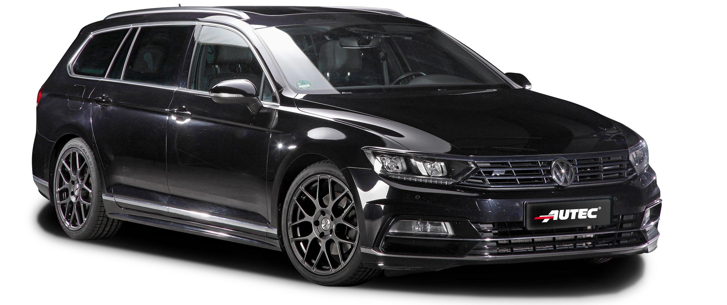 VW – Passat – Schwarz – AUTEC – Hexano – Schwarz – 17 Zoll