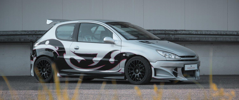 Peugeot – 206 – Grau – BARRACUDA – Karizzma – Schwarz – 17 Zoll