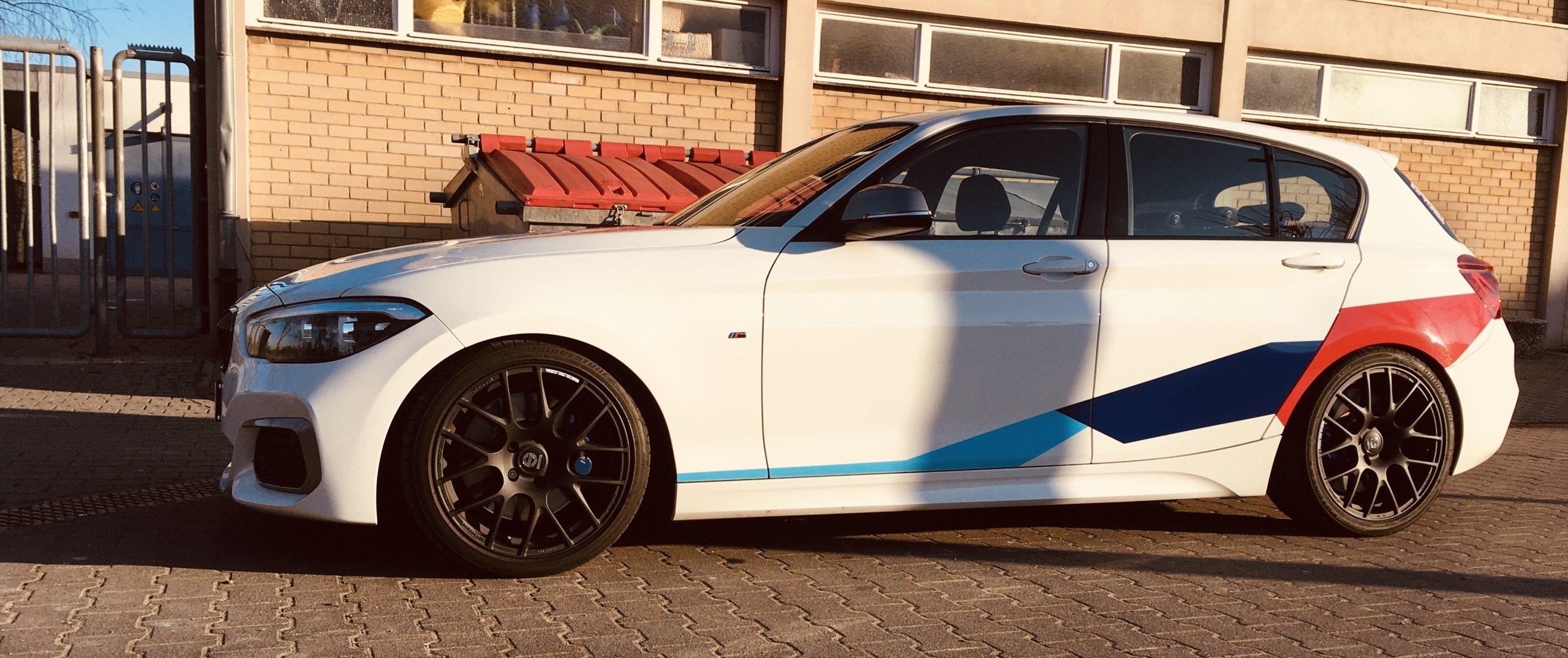 BMW – 1er – Weiß – SPARCO WHEELS – Pro Corsa – Schwarz – 18 Zoll