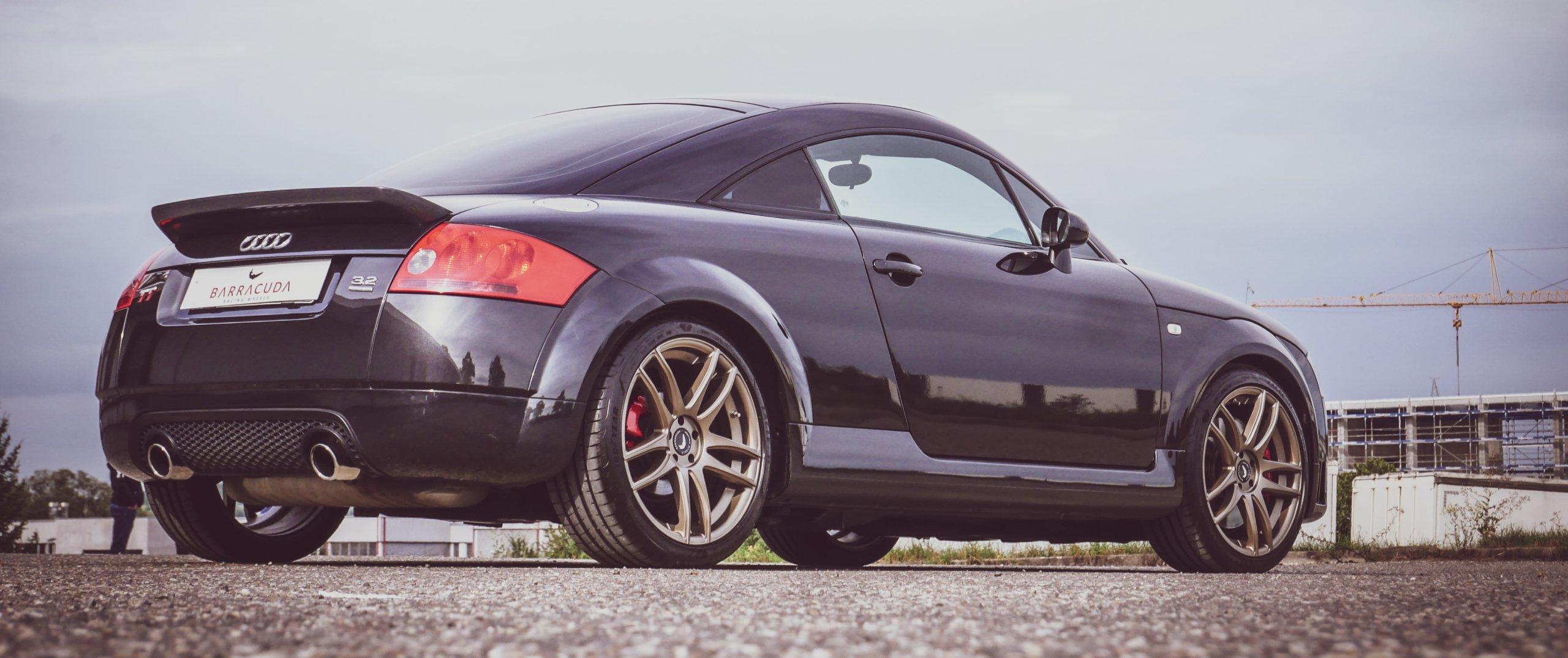 Audi – TT – Schwarz – BARRACUDA – Shoxx – Bronze – 18 Zoll