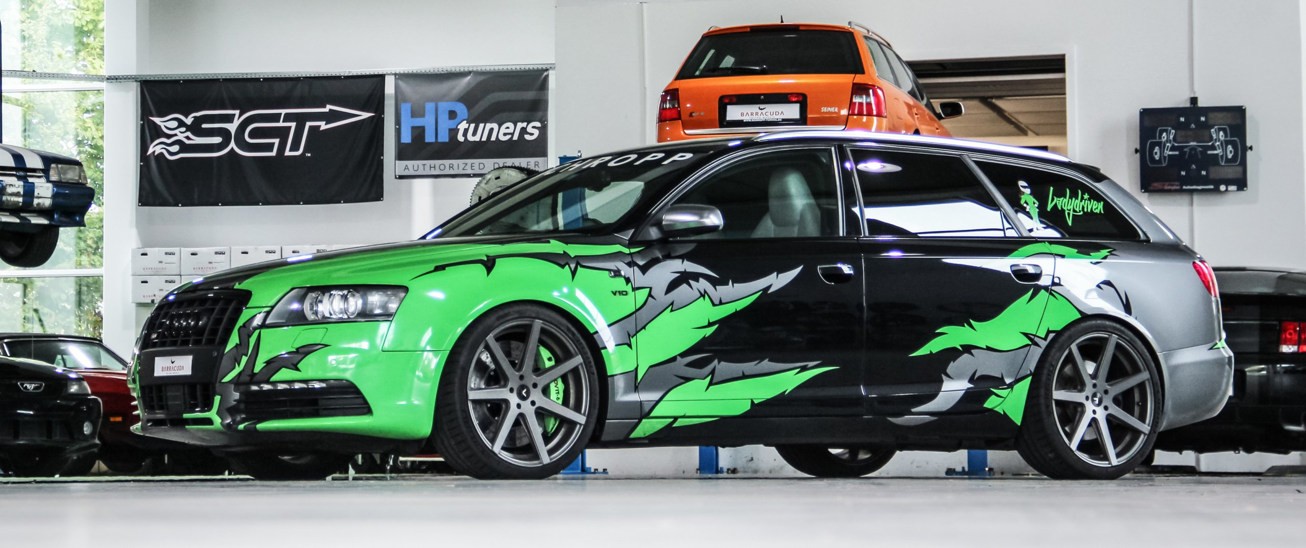 Audi – S6 – Speziallack – BARRACUDA – Virus – Gunmetall – 20 Zoll