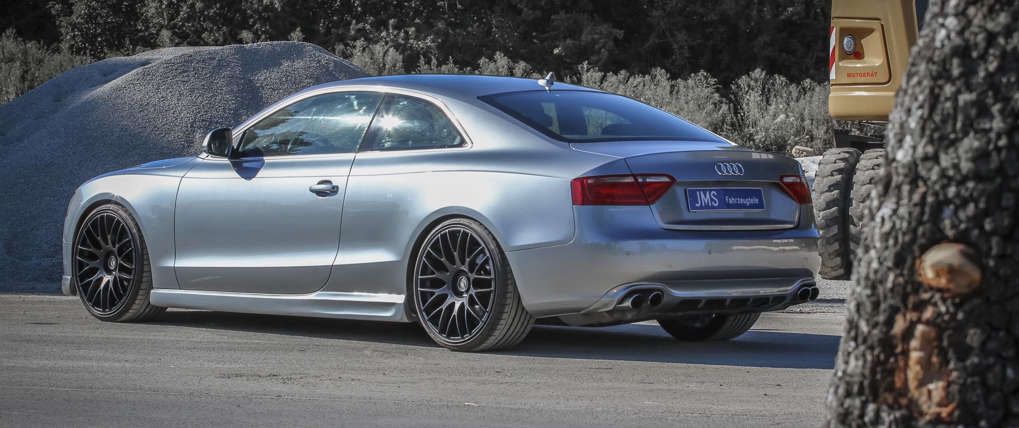 Audi – A5 – Silber – BARRACUDA – Karizzma – Schwarz – 20 Zoll