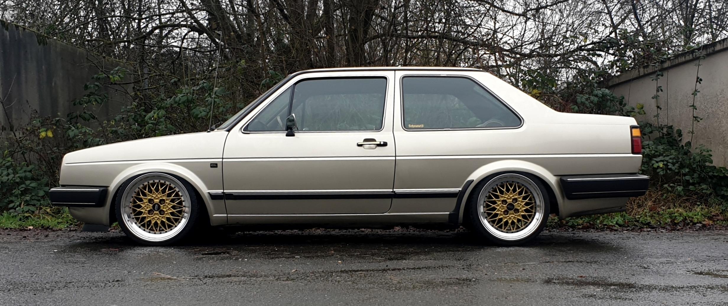 VW – Jetta – Gold – 5050RIMS – Custom RA 375 – Gold – 17 Zoll
