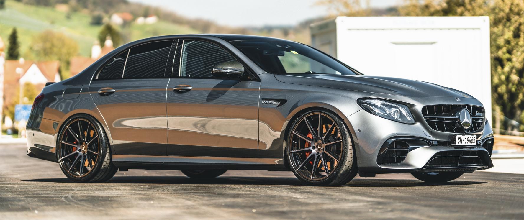 Mercedes-Benz – E63 – Silber – BARRACUDA – Ultralight Project 2.0 – Schwarz – 21 Zoll
