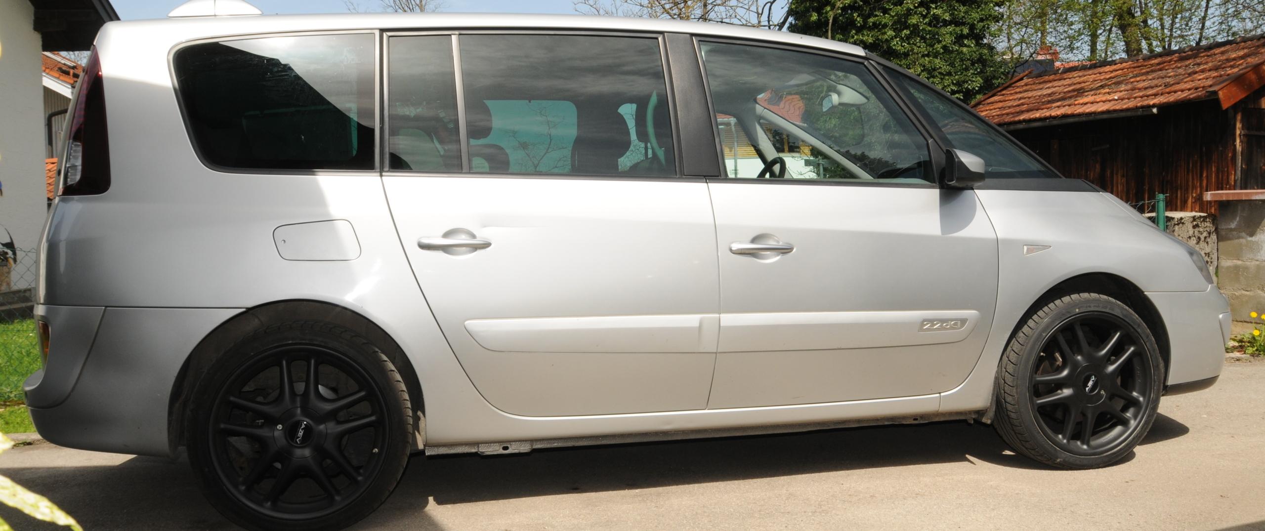 Renault – Espace – Silber – AZEV – Typ A – Schwarz – 20 Zoll